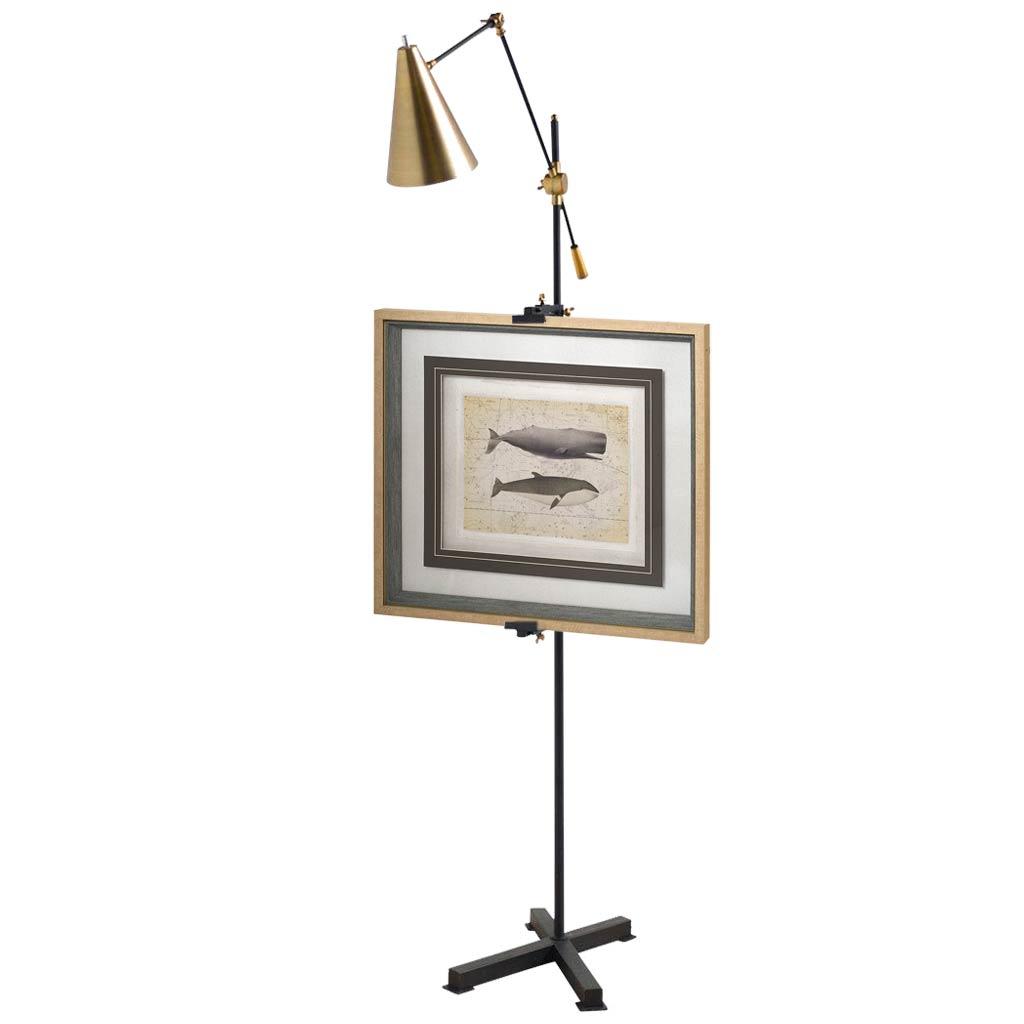 Pelham Easel Floor Lamp